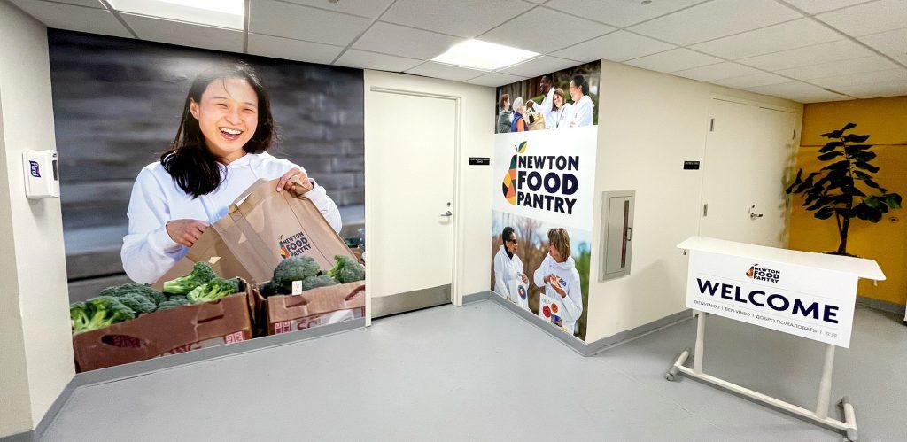 New Indoor pantry space